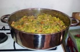 פאייה אורז מלא