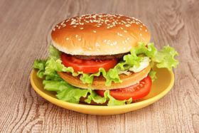 המבורגר דל שומן