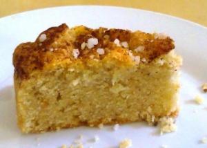 קינוחים בריאים- עוגת הל וקינמון