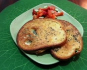 לחם צרפתי אפוי