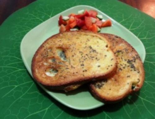 לחם צרפתי (פרנץ' טוסט) אפוי